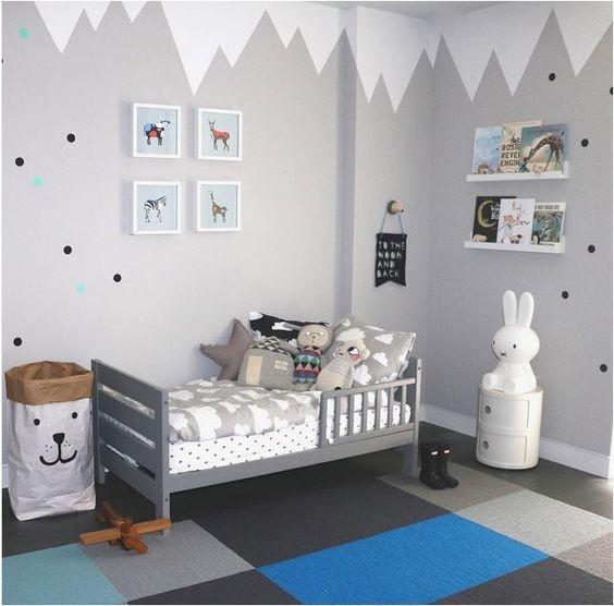 Pok j ch opca inspiracje mamy sprawy blog - Paredes pintadas de gris ...