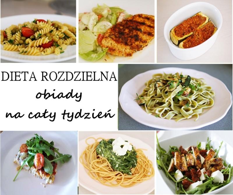 Dieta Rozdzielna Obiady Na Tydzien Mamy Sprawy Blog