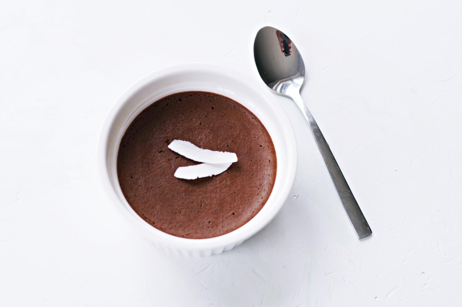 czekoladowy mus z aquafaby