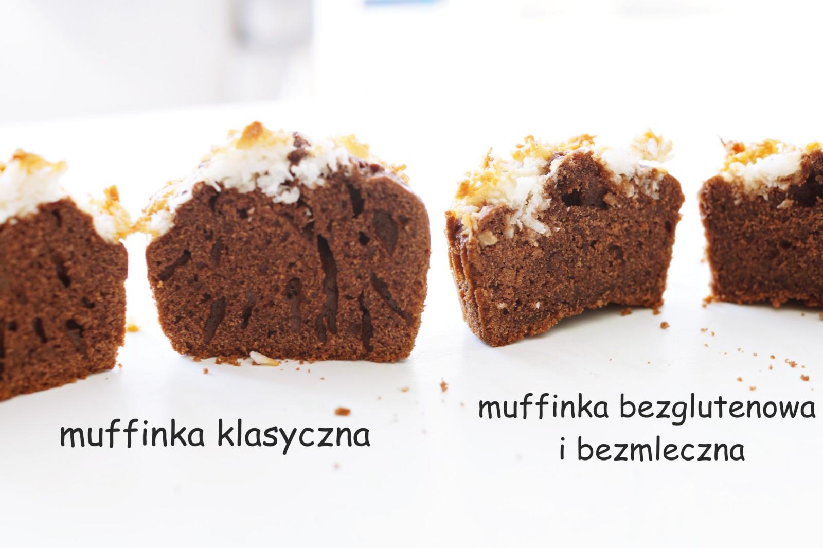 muffinki bezglutenowe i bezmleczne